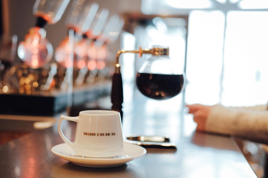 冬季・午後的一杯咖啡